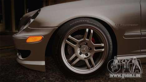 Mercedes-Benz C32 AMG 2004 für GTA San Andreas Rückansicht