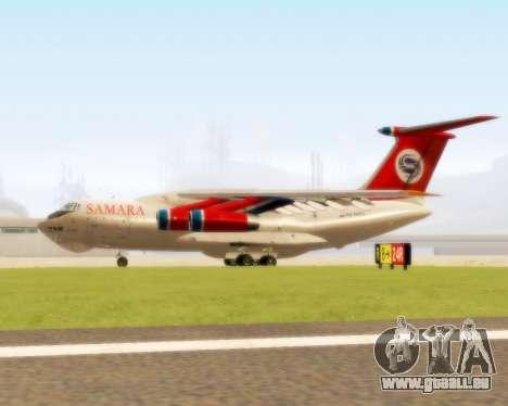 Il-76td Samara pour GTA San Andreas sur la vue arrière gauche