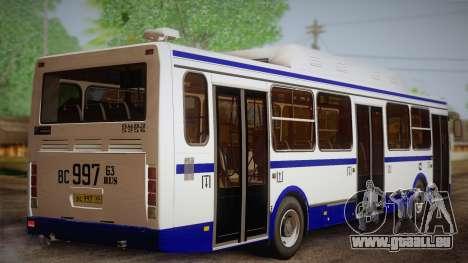 LIAZ 5256.57 2007 pour GTA San Andreas laissé vue