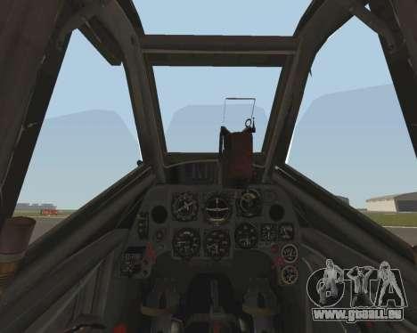 Bf-109 G6 v1.0 für GTA San Andreas Seitenansicht