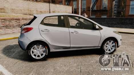 Mazda 2 für GTA 4 linke Ansicht