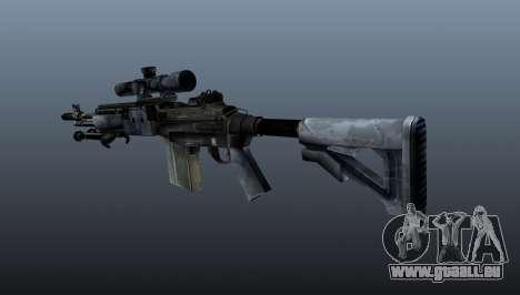 Mk14 M21 sniper rifle v2 pour GTA 4 secondes d'écran
