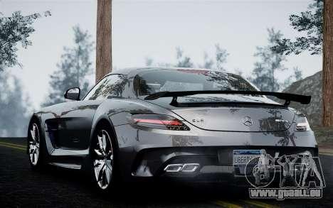 Mercedes-Benz SLS AMG Black Series 2014 pour GTA 4 Vue arrière de la gauche