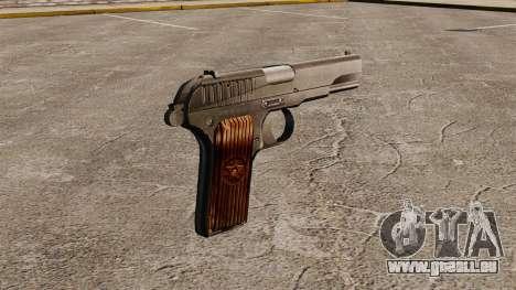 Pistolet semi-automatique TT-33 pour GTA 4 secondes d'écran