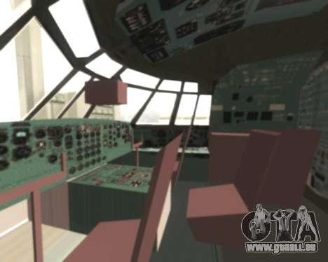 Il-76td Samara pour GTA San Andreas vue arrière