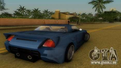 Toyota MR-S Veilside Hardtop für GTA Vice City rechten Ansicht