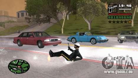 Halbautomatische Pistole für GTA San Andreas dritten Screenshot