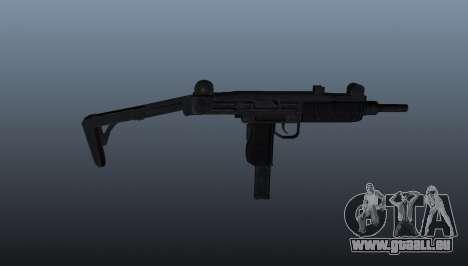 IMI Uzi Maschinenpistole für GTA 4 dritte Screenshot