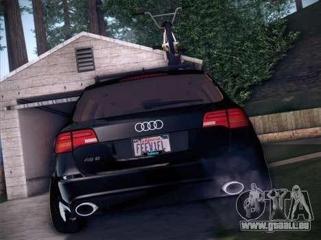 Audi Avant RS6 LowStance pour GTA San Andreas vue de côté