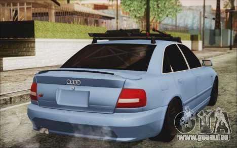 Audi S4 Hellaflush für GTA San Andreas linke Ansicht