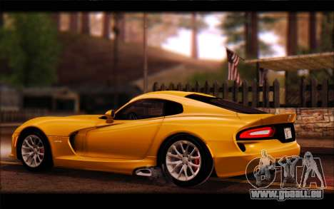 SRT Viper Autovista für GTA San Andreas