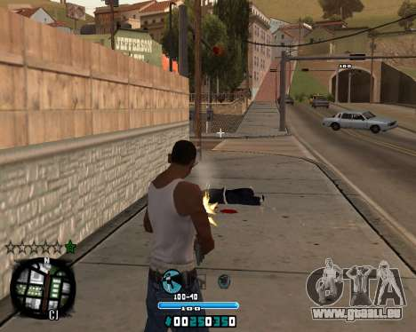 C-HUD Old Tawer pour GTA San Andreas