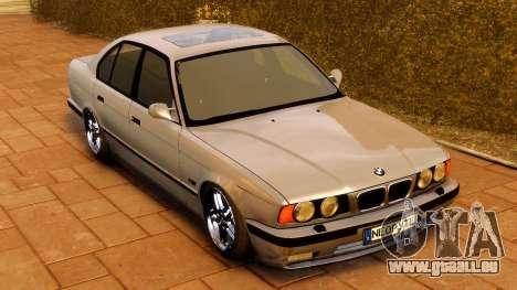 BMW M5 E34 1995 für GTA 4 rechte Ansicht