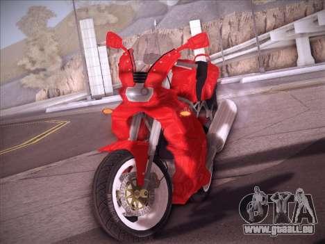 Ducati Supersport 1000 DS pour GTA San Andreas vue arrière