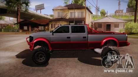Sandking XL de GTA 5 pour GTA San Andreas laissé vue