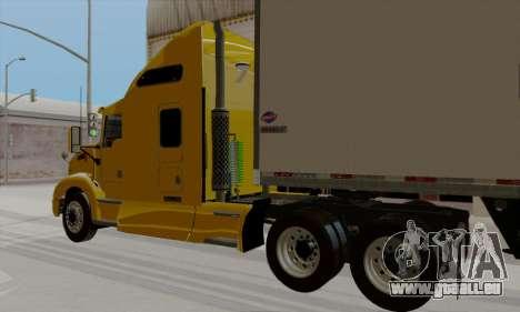 Kenworth T660 2011 pour GTA San Andreas laissé vue