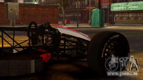 Formula Ford 1600 v1.0 für GTA 4 rechte Ansicht