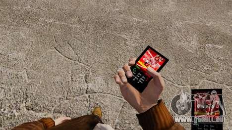 Das Thema für das Telefon von Coca-Cola für GTA 4