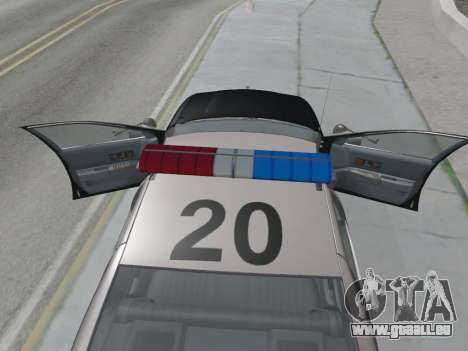 Chevrolet Caprice LAPD 1991 [V2] für GTA San Andreas rechten Ansicht