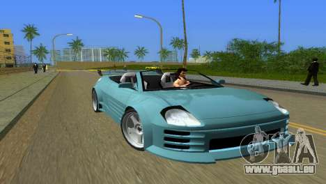 Mitsubishi Eclipse GT 2001 pour GTA Vice City