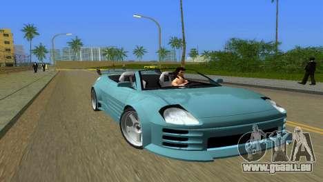 Mitsubishi Eclipse GT 2001 pour GTA Vice City