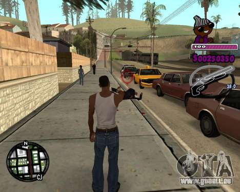 C-HUD for Ballas für GTA San Andreas
