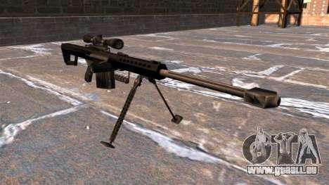 Fusil de précision Barrett M82A1 Light Fifty pour GTA 4