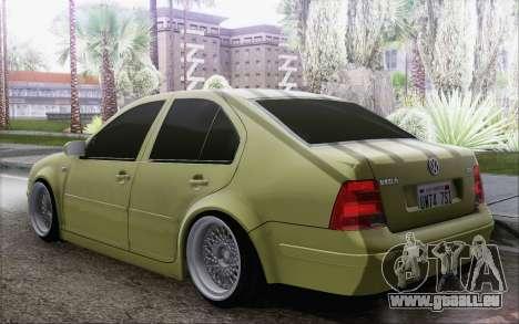 Volkswagen Bora Stance pour GTA San Andreas laissé vue