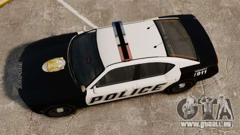 GTA V Buffalo Police pour GTA 4 est un droit