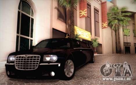 Chrysler 300C Limo 2007 für GTA San Andreas Seitenansicht