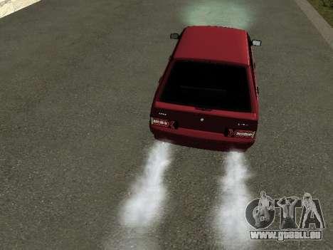 ВАЗ 2114 BPAN pour GTA San Andreas vue arrière