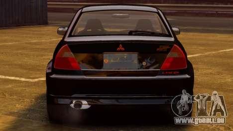 Mitsubishi Lancer Evolution VI GSR 1999 für GTA 4 rechte Ansicht