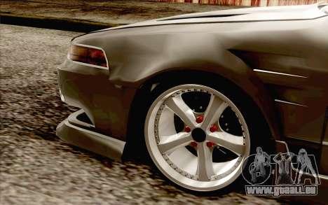Nissan Cefiro A31 pour GTA San Andreas sur la vue arrière gauche