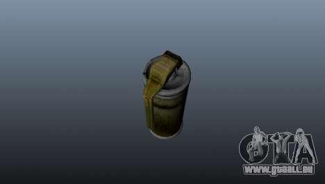 Grenade pour GTA 4 troisième écran