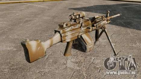 Lumière mitrailleuse Mk 48 pour GTA 4 secondes d'écran