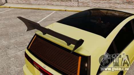 Extreme Spoiler Adder 1.0.7.0 pour GTA 4 troisième écran