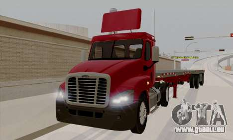 Freghtliner Cascadia Daycab 6x2 pour GTA San Andreas