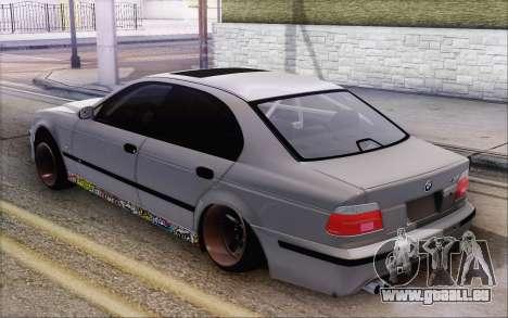 BMW M5 Street pour GTA San Andreas laissé vue