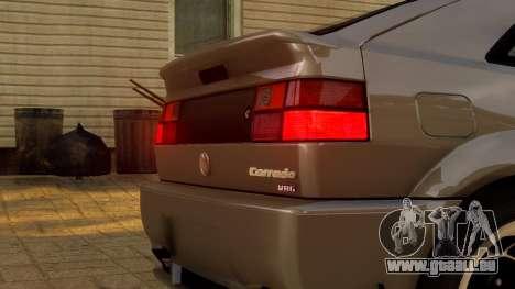 Volkswagen Corrado VR6 1995 pour GTA 4 est une vue de l'intérieur