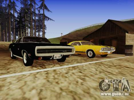 SA_RaptorX v1. 0 für schwache PC für GTA San Andreas zehnten Screenshot