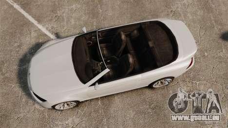 GTA V Zion XS Cabrio [Update] pour GTA 4 est un droit