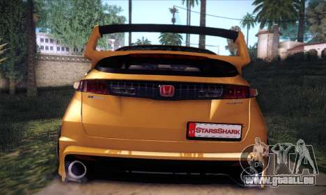 Honda Civic Type R Mugen für GTA San Andreas obere Ansicht