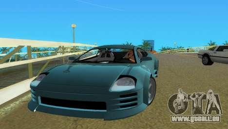 Mitsubishi Eclipse GT 2001 pour une vue GTA Vice City de la droite