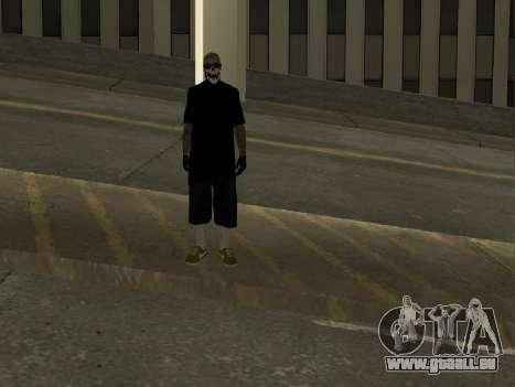Vagos Skin Pack für GTA San Andreas dritten Screenshot