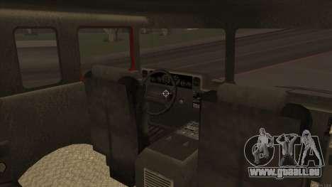 Firetruck HD from GTA 3 für GTA San Andreas Rückansicht
