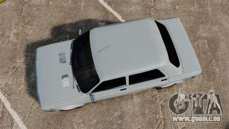 Zastava 128 für GTA 4 rechte Ansicht