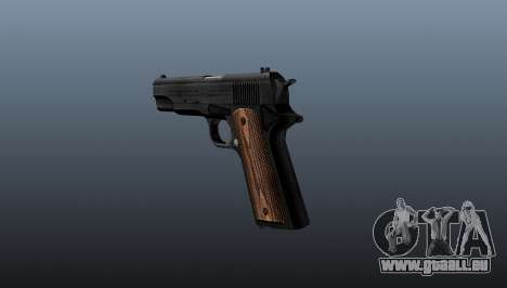 Pistolet M1911 pour GTA 4 secondes d'écran