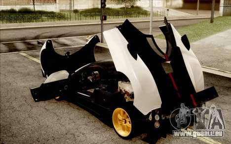 Pagani Zonda Cinque für GTA San Andreas