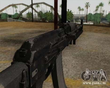 AK-103 pour GTA San Andreas troisième écran