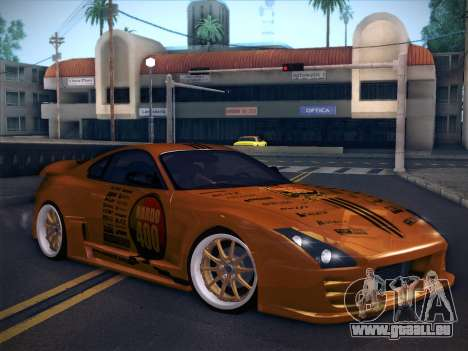 Toyota Supra Top Secret V12 für GTA San Andreas Innen